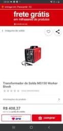 Maquina de Solda Wolker 150