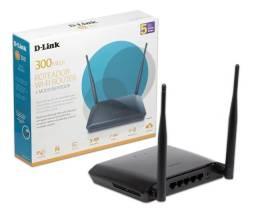 Roteador D Link Wireless N 300mbps Dir-615 + Modo Repetidor