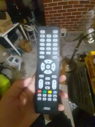 Controle de tv aoc original controle tv aoc rc 1994511/01 na 111400001683