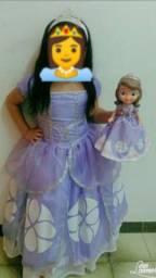 Vestido da Princesa Sófia.
