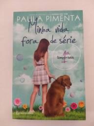 Livro Minha vida fora de série - Paula Pimenta