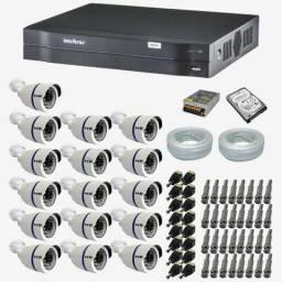 Mega promoção 16 Câmeras com Infravermelho Instaladas e Configuradas