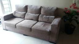 Sofá retrátil e reclinável 3 lugares (grande)