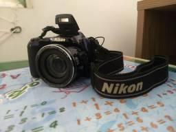 Câmera Nikon Coolpix L810 16.1 MP Semi profissional