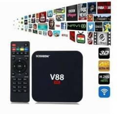 TV Box 4K Completo Original Lacrado na Caixa - Chamar inbox
