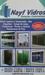 Vidros temperados/blindex!!!