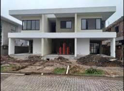 Casa nova 3 dormitórios com suíte à venda, 127 m² por r$ 420.000 - ribeirão da ilha - flor