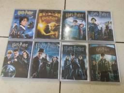 Box Dvd Todos Filmes Harry Potter na capa dura encartes, ótima qualidade de áudio e vídeo comprar usado  São Paulo