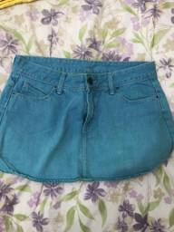 Saia jeans - tam 40