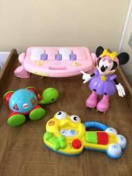Lotinho de brinquedos Musicais ( Importados)