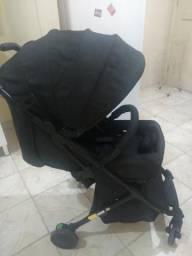 Carrinho de Bebê Travel System Airway Full Black - Safety 1st