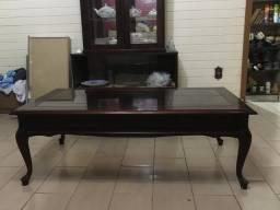 Mesa centro madeira de lei finíssima
