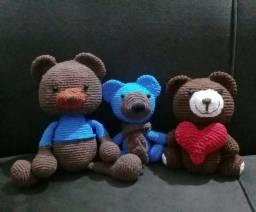 Ursos em crochê