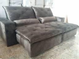 Sofá retrátil e reclinável Novo