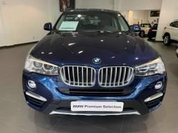 BMW X4 2017/2017 2.0 28I X LINE 4X4 16V TURBO GASOLINA 4P AUTOMÁTICO - 2017
