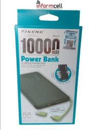 Carregador Portátil / Power Bank Pineng 10.000mAh