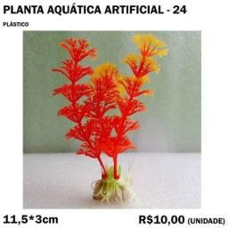 Título do anúncio: Planta Artificial para Aquário - Modelo 24