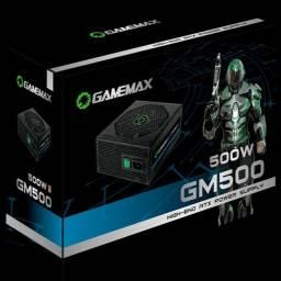 Fonte ATX Gamemax 500W 80 Plus Bronze Pfc Ativo