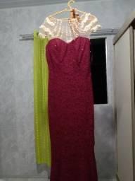Vestido de Festa Chique Alta Costura