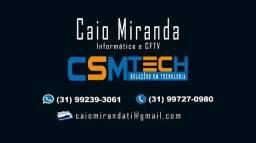 Instalação de câmeras e serviços de informática