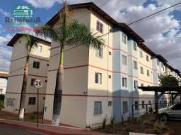 Apartamento com 2 dormitórios para alugar, 56 m² por R$ 750/mês - Vila São Joaquim - Anápo
