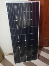 Placa solar com inversor