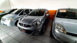 Nissan march 1.6 S 2015 completo