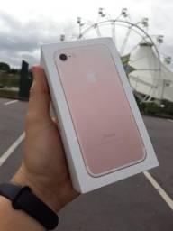 IPhone 7 32GB rose com garantia saúde 100%