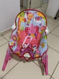 Cadeira de descanso para bebês com todos os acessórios