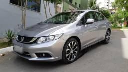 Honda Civic Lxr 2.0 Flex At 2015 Único Dono Revisado - 2015