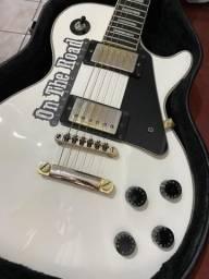 Guitarra Eipiphone Alpine Pro White Custom