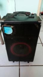 Caixa de som / karaoke