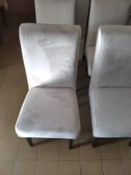 Promoção conjunto de cadeiras novas