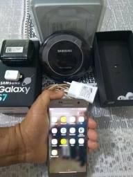 Samsung Galaxy S7 G930 6.0 Tela 5.1 32gb 4g Seminovo - Com carregador wirelles