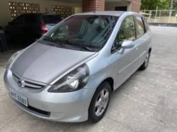 Honda fit Lx 1.4 prata - 2008