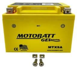 Bateria Gel Motobatt Mtx9a Ytx9-bs Kawasaki Ninja 250 300 Cb500 Vt600 Cb600 Cbr900 Xt600