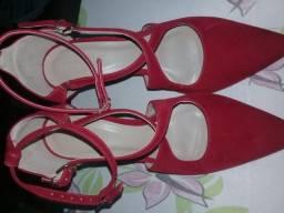 Calçados usados 1 vz