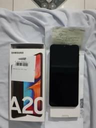 Troco celular A20 da Samsung por geladeira no valor 750 reais