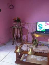 Vaso de ferro para festa 60cm