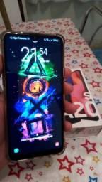 Samsung A20s na caixa com nota fiscal
