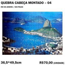 Título do anúncio: Quebra-cabeça Montado - Rio de Janeiro
