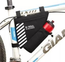 Bolsa com Porta Garrafa Bike Ciclismo
