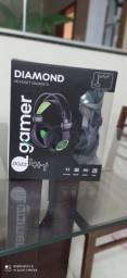 Headset Drazz diamond Som virtual 7.1