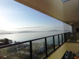 Lindo Apartamento com Vista para o Mar no Balneário Estreito - 3 Quartos