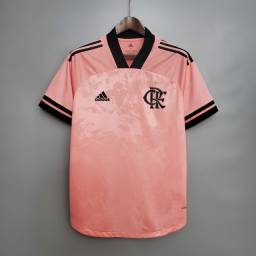 Camisa Flamengo Rosa - Aceitamos cartoes/PIX