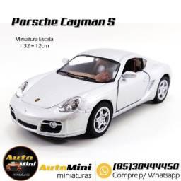 Miniatura Porsche Cayman S, em Fortaleza-Ceará