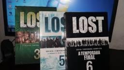 DVD Box Lost 3,5 e 6 Temporadas