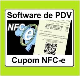 Título do anúncio: Sistema PDV com cupom fiscal NFC-e, caixa, estoque, vendas compras financeiro relatórios
