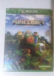 Jogo Minecraft Xbox One novo ( LACRADO)