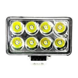 Farol De LED Retangular 12v/24v